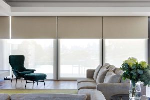 SISTEMA DOBLE DE CORTINAS